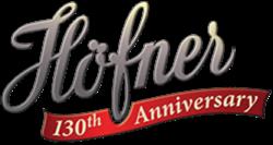 HOFNER 130TH ANNIVERSARY LOGO