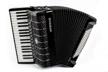 Hohner Mattia IV 96 Black Piano Accordion